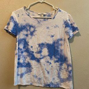 """Acid wash """"cloud"""" tee"""